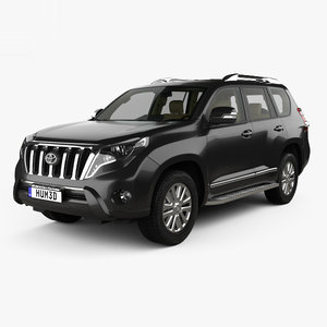 toyota prado land 3D model