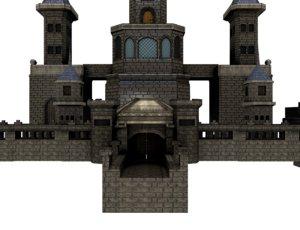 3D modular castle