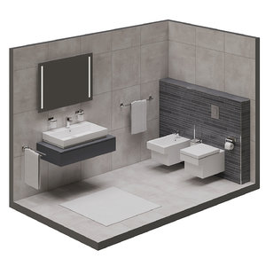 grohe cube 3D model
