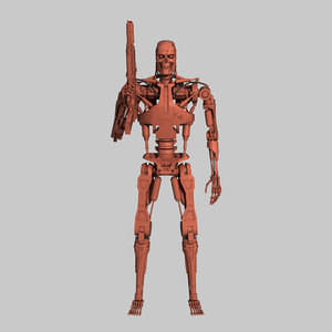 terminator t-800 endoskeleton printing 3D model