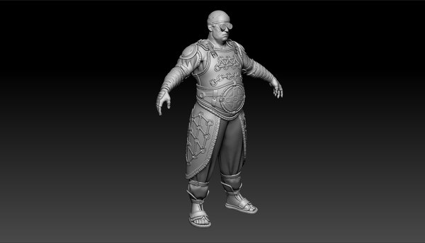 character zbrush future 3D model