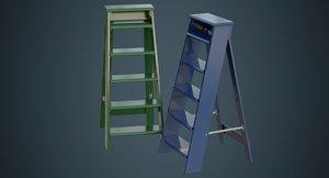 3D step ladder 3a