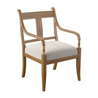 3D hotel chair armrests armchair