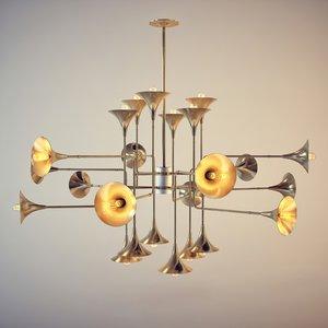 max delightfull - botti chandelier