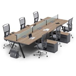 office uhuru 3D model