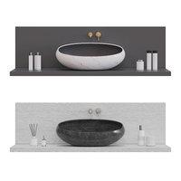 3D model kreoo gong sink