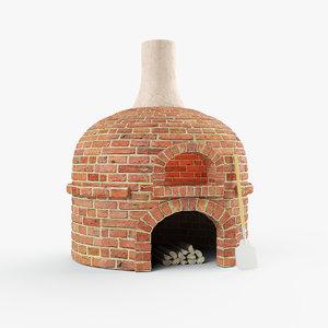 3D masonry oven
