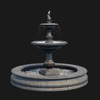 Charleston Outdoor Water Fountain