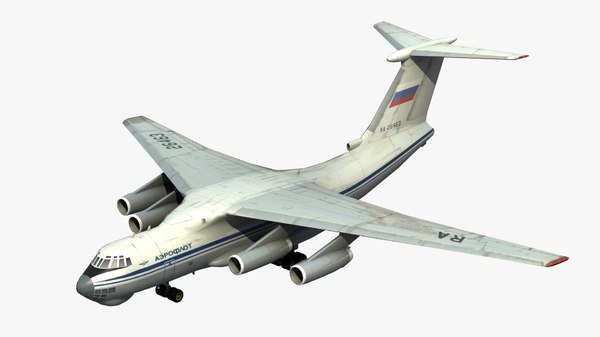 ilyushin il-76 candid 3D model