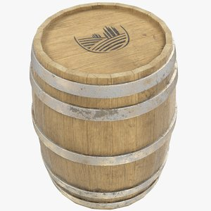 3D barrel bar model