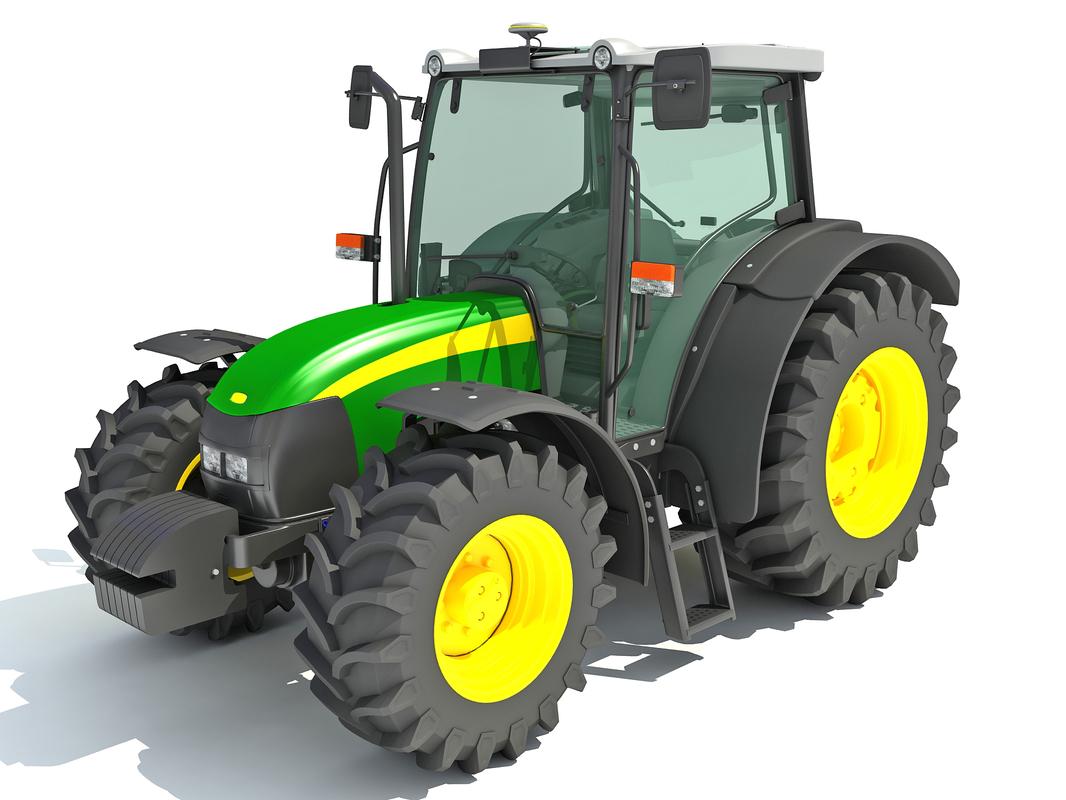 3D generic tractor