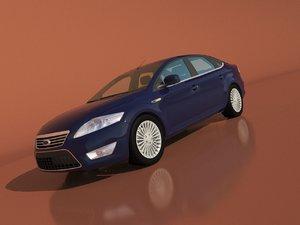 mondeo sedan 3D model