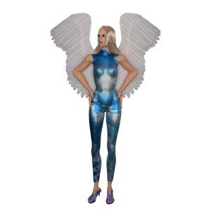 angel winged model