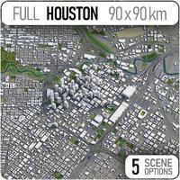 3D houston texas area