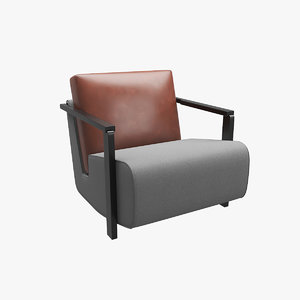3D launge chair v3 model