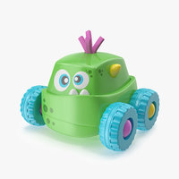 Green Monster Car Toy