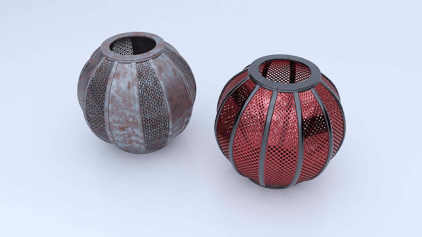 small vase 3D