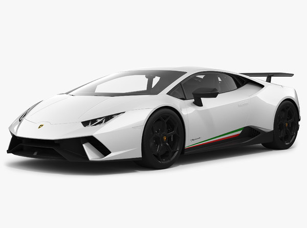 3D model lamborghini huracan performante