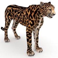 3D king cheetah