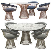 Knoll - Platner Dining Table with Chair