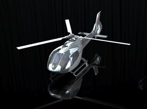 3D airoplan model