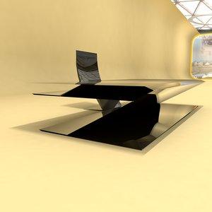 design home office 0011 3D model