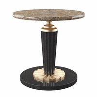 hotel end table 3D model