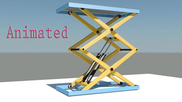 3D scissor lift
