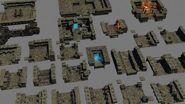 3D model mobile games
