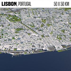 3D buildings houses maps model