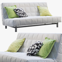 3D ikea beddinge sofa