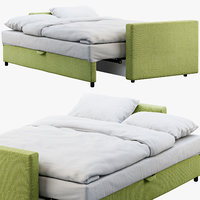 ikea friheten bed 3D model