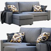 ikea vilasund sofa 3D