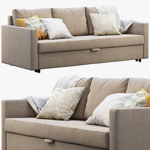 ikea friheten sofa 3D model