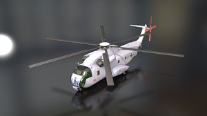 sikorsky ch-53 sea stallion 3D model