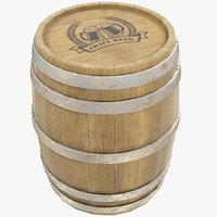 barrel bar 3D model