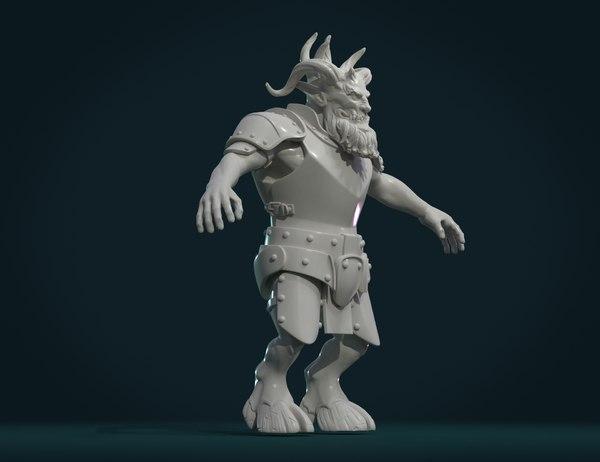 demon figure 3D