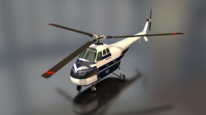 3D sikorsky s55 air force
