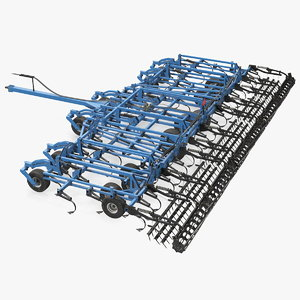 3D seedbed cultivator