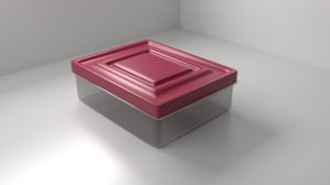 3D food container 4