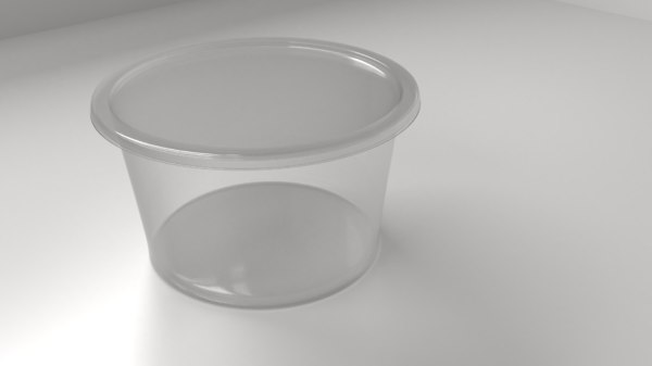 food container 3 3D model