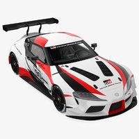 3D model toyota supra gazoo racing