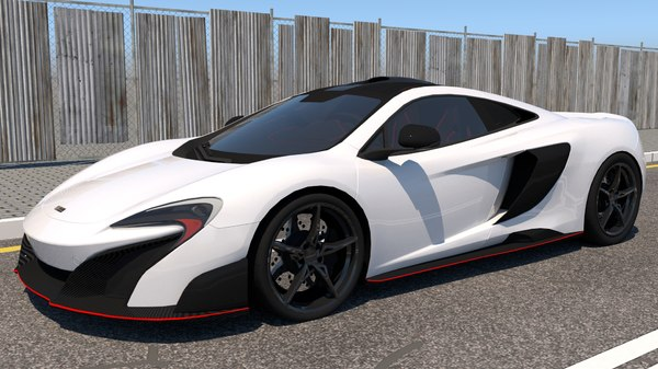 supercar coupe 3D