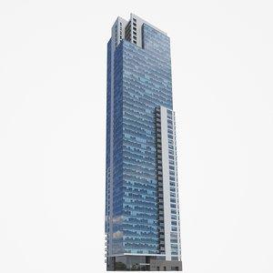 kilbourn tower buildings pbr 3D