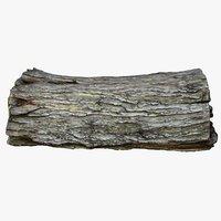 retopology bark 3D model