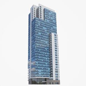 kilbourn tower pbr 3D model