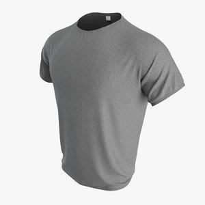 3D mens t-shirt