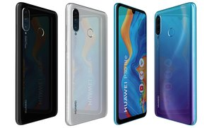 3D huawei p30 lite colors model