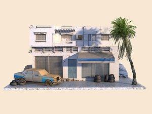 3D arabic car service