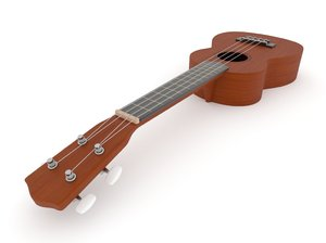 3D ukulele blender v-multi